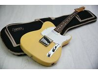 RARE! Fender Japan Koyuki Signature Telecaster TL68-BECK Aged Blonde & Gig Bag