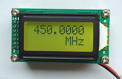 1 Mhz 1.1 Ghz Rf Frequency Counter Tester Digital Led Meter For Ham Radio