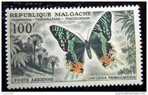 MADAGASCAR-timbre-stamp-yvert-et-tellier-aerien-n-81-n