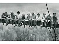 Labourer lookig for a job