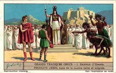 6 Cards C1931 Great Greek Tragedies Prometheus Sophocles Ajax Euripedes Alceste