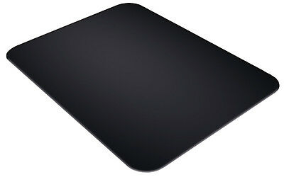 Tuftop Black Smooth Worktop Saver 40x30cm Protector Chopping Board Trivet Glass