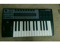 Notation remote 25SL compact midi keyboard