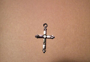 CROSS PENDANT WITH STONES
