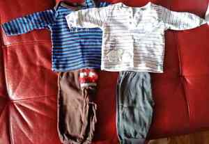 Vêtements bébé ensemble garçon/ Baby boy clothes set 3-6m