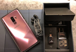 Samsung S9 Plus (64gb) purple ( Trade for iPhone 8 Plus or X)