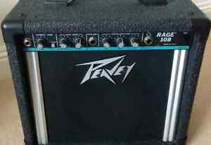Peavey rage 108 guitar amp - as is - need some work