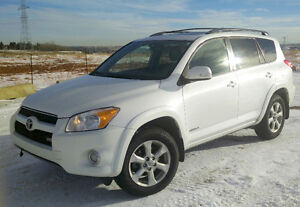 2009 Toyota RAV4 V6 Limited 4WD SUV, Great Condition!