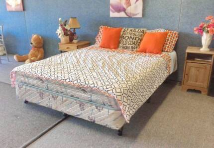 DELIVERY TODAY Ensemble Queen bed & mattress QUICK SALE Perth Region Preview