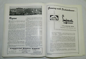 1905-1955 SASKATCHEWAN BUSINESS DIRECTORY GOLDEN JUBILEE Edition Regina Regina Area image 6