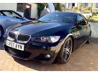 BMW 330i M Sport Convertible 44,000 miles 3.0 Petrol I drive e93 335i 330d m3 All extras