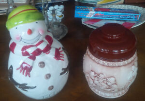 Do You Collect Cookie Jars? Here are two.
