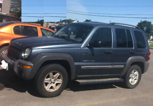 2002 Jeep Liberty Sport As is (for parts)