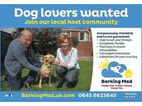 Dog Lovers Wanted
