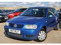 2001 VOLKSWAGEN POLO 1.4 MATCH 3D 60 BHP FULL SERVICE HISTORY + JUST SERVICED