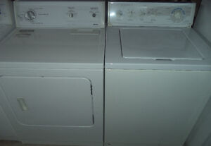KITCHEN AID WASHER AND KENMORE DRYER FOR SALE!