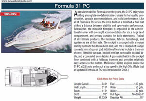 Low Hours Formula 31 PC for sale