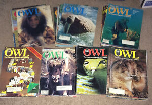 Vintage 1970's & 1980's lot of Kids OWL Magazine 48 Issues 78-84