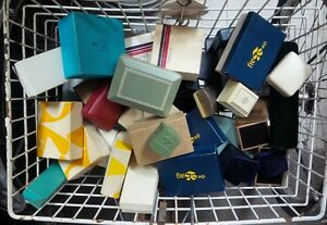 Vintage Jewelry Boxes - Lot of 49