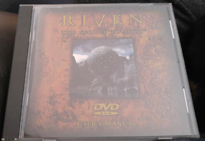 RiVen the sequel to Myst DVD ROM game