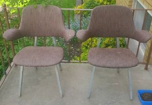 mid cenrtury chairs (project)