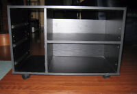 Horizontal Multimedia Cabinet on casters