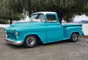 1956 Chevrolet 3100 Short Bed Big Window Pick Up!