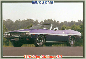Muscle Cars MOPAR Trading Cards from the 1992 Collect-A-Card Cor Sarnia Sarnia Area image 5