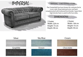 Chesterfield imperial 3+2 Sofa Sale