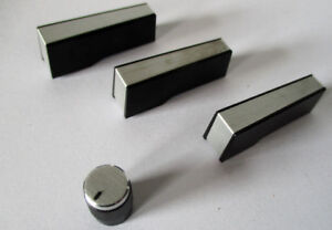 JVC JL-A20 Turntable Control Knobs - Switch Covers