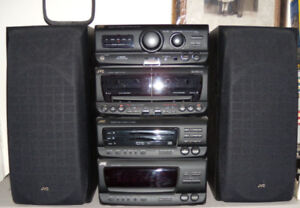 JVC CA-D75T Compact Stereo