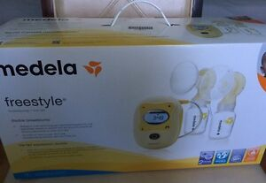 NEW neuf 2016 Medela Freestyle double breastpump tire lait