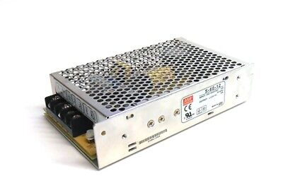 Meanwell Power Supply S-60-12 Smps 12v 5a 60w Fixed Type