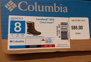 Brand New (Tags On) Columbia Women's Omni Heat Boots Size 8-1/2 London Ontario image 7