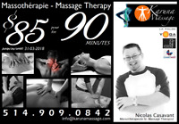 PROMO: Prof. Massage Therapy on the South Shore / Massothérapie