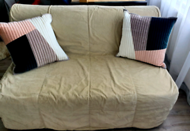Ikea double sofa bed with cover