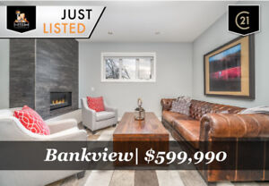 CONTEMPORARY 2 BED 2.5 BATH BANKVIEW TOWNHOUSE FOR SALE