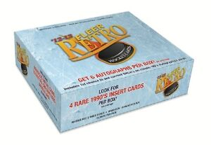 2012-13 Upper Deck Fleer Retro Hockey Hobby Box