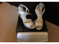 Wedding/prom shoes and bag