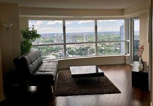 34th Floor Contemporary 2bd/bath Condo @Village Green Sq off 401