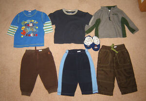 Boys Sleepers, Pj's, Clothes, Winter Sets - 12, 12-18, 18, 18-24 Strathcona County Edmonton Area image 6