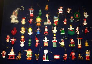 48 ornements antique de Noel...