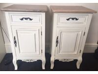 Barker and Stonehouse bedside tables RRP £185 each