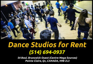 Professional Dance Studios for Rent in Pointe Claire $40.00/hr