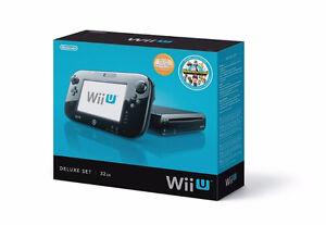 Nintendo WII U Console/Accessoires et + 50 jeux. Garantie 30 jrs