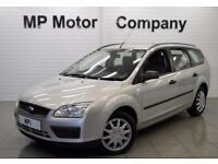 2005 05 FORD FOCUS 1.6 LX 16V 5D 101 BHP AUTOMATIC ESTATE, SILVER, GENUINE PX