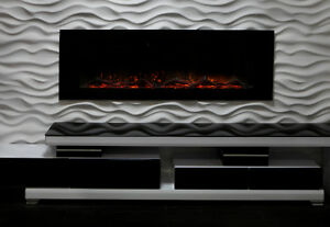 "Electric Fireplace40''50"" 60"" 70'' Built-IN*LIMITED TIME SPECIAL Kingston Kingston Area image 2"