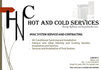Furnace or AC installations and maintenance