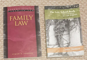 Essentials of Canadian Law & The Law School Book