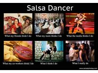 Monday street SALSA fusion class for adults
